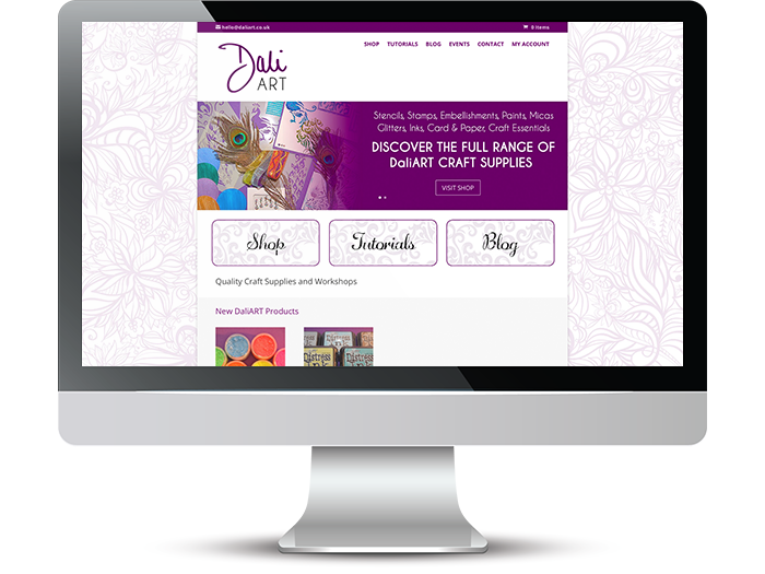 DaliART Web Screenshot