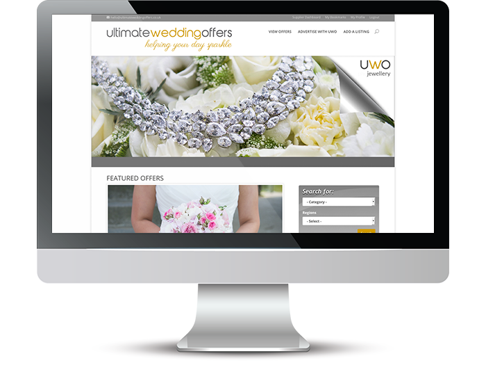 Ultimate Wedding offers Web Screenshot